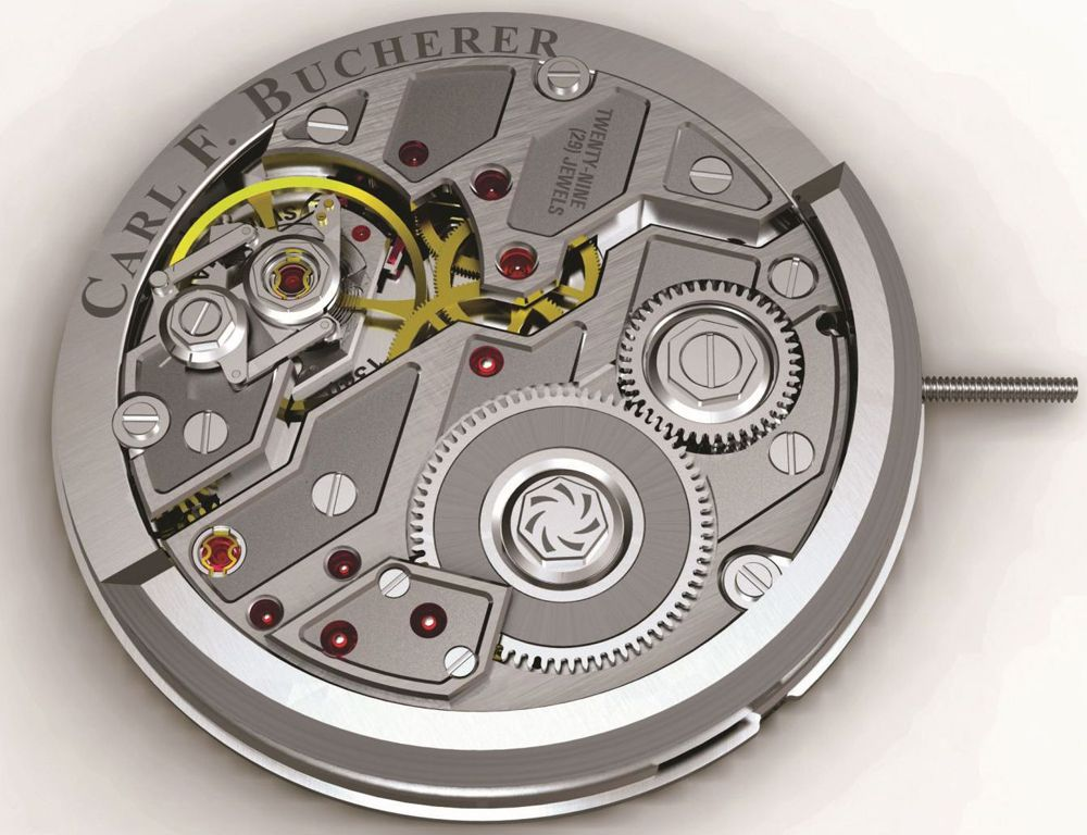 Мануфактурный калибр Bucherer Watches A1000