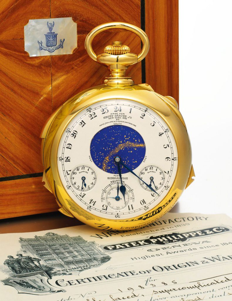 Карманные часы Patek Philippe Supercomplication Henry Graves Jr.