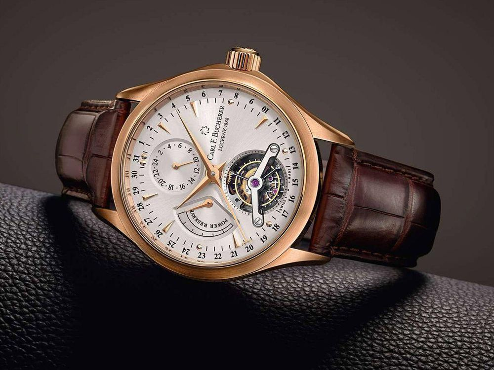 Часы Carl F. Bucherer Grande Manero Tourbillon Limited Edition